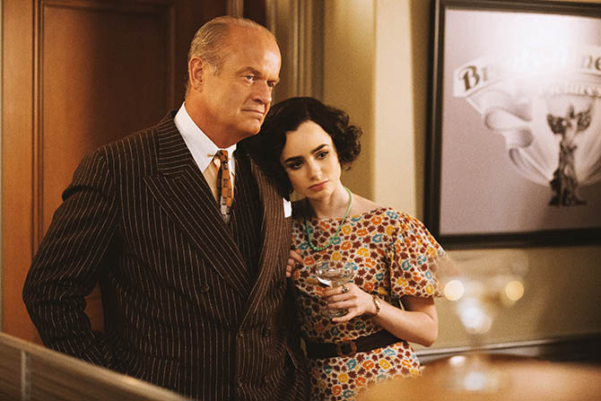 Kelsey Grammer and Lily Collins in 'The Last Tycoon' Photo Jennifer Clasen/Amazon Video