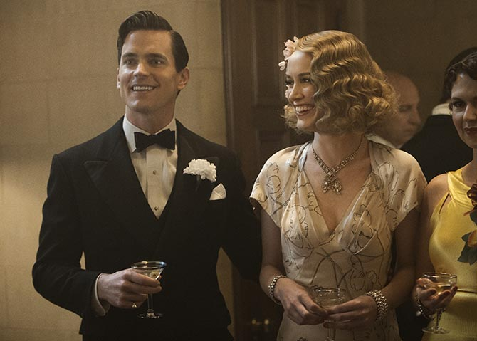 Matt Bomer and Dominique McElligott wearing costume designer Janie Bryant's favorite jewel in 'The Last Tycoon' Photo Merie Wallace/Amazon Video