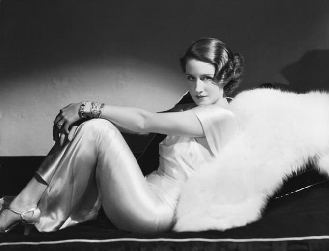 A 1934 image of Norma Shearer by George Hurell. Photo by John Kobal Foundation/Getty Images