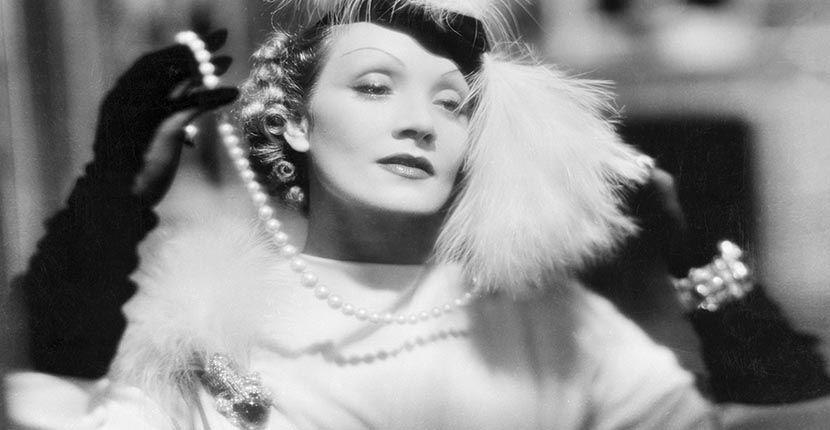 The Adventurine Posts Marlene Dietrich's Emeralds On-Screen and Off-Duty