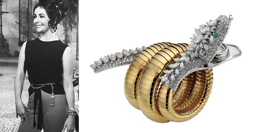 The Adventurine Posts Who Gave Elizabeth Taylor Her Bulgari Serpenti?