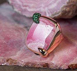 The AdventurinePostsPomellato Rings In Its 50th With 50 Jewels