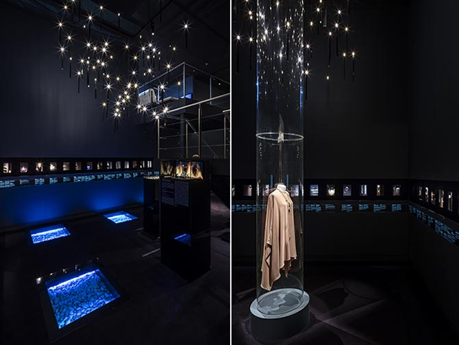 Two views of the Symbolic & Chase exhibition space at Masterpiece London. Photo courtesy