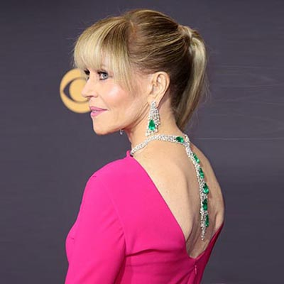 The Adventurine Posts Jane Fonda's $2.5 Million Emmy Awards Jewelry
