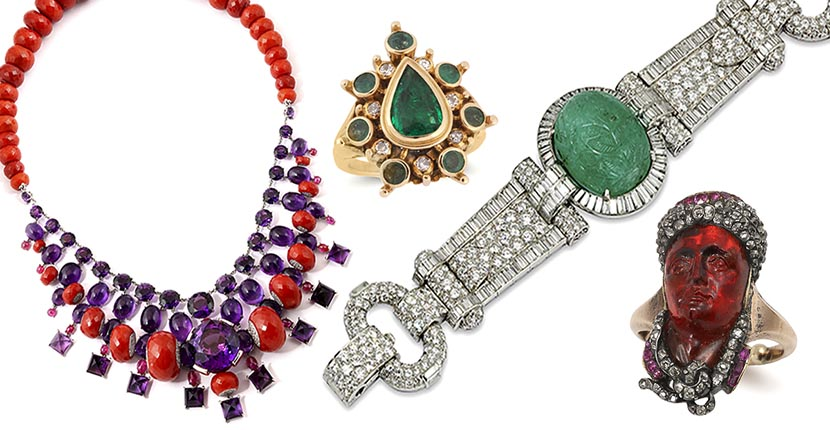 The Adventurine Posts Jewelry at Symbolic & Chase Is Museum Quality