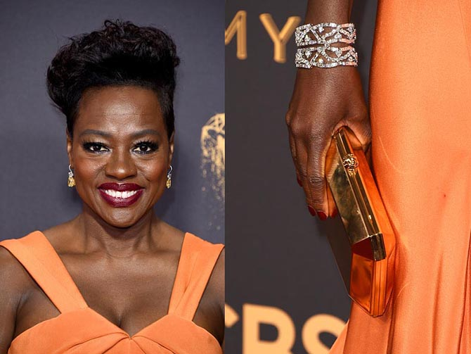 Viola Davis in jewels from Harry Winston