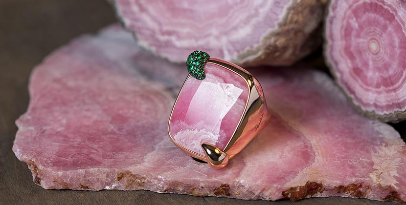 The Adventurine Posts Pomellato Rings In Its 50th With 50 Jewels