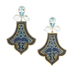 The AdventurinePostsSilvia Furmanovich's Ode to India in Earrings
