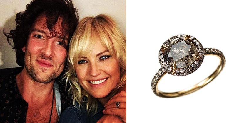 The Adventurine Posts Malin Akerman's Dreamy Engagement Ring