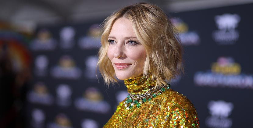 The Adventurine Posts Cate Blanchett Layered 3 Leighton Necklaces
