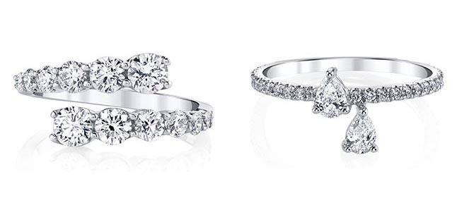 Engagement rings by Anita Ko