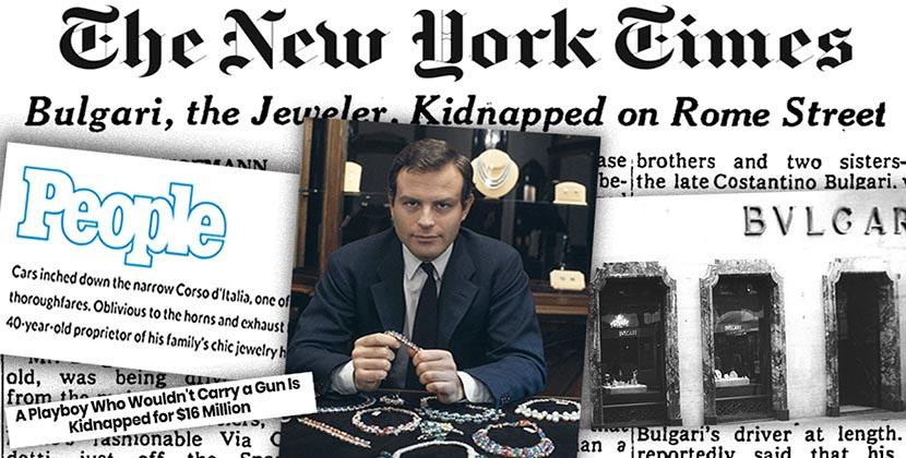 The AdventurinePostsThe Mafia Kidnapped Gianni Bulgari in 1975