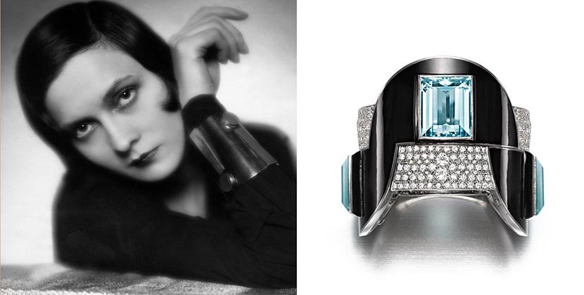 The Adventurine Posts The Empowering Art Deco Jewelry of Jean Fouquet
