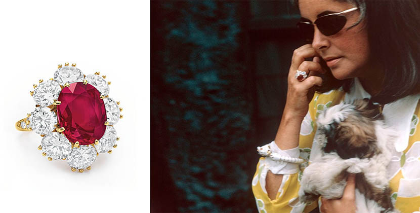 The Adventurine Posts Elizabeth Taylor's Ruby Was A Stocking Stuffer