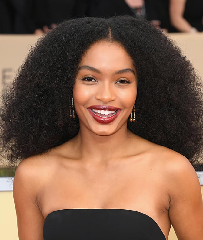 Yara Shahidi in Tiffany at the 24th Annual Screen Actors†Guild Awards.