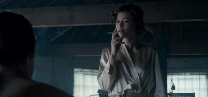 Princess Margaret (Vanessa Kirby) the moment before she receives a ring and proposal from Antony Armstrong Jones (Matthew Goode) in Season 2 of 'The Crown.' Photo Netflix