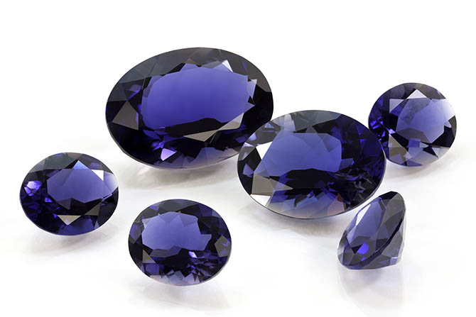 Group of Tanzanites Photo IStock
