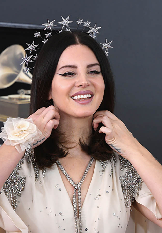 Lana Del Rey in Gucci at the Grammys