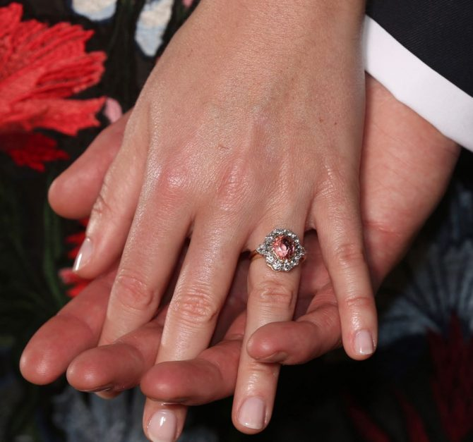 why princess eugenie�s engagement ring is rare the