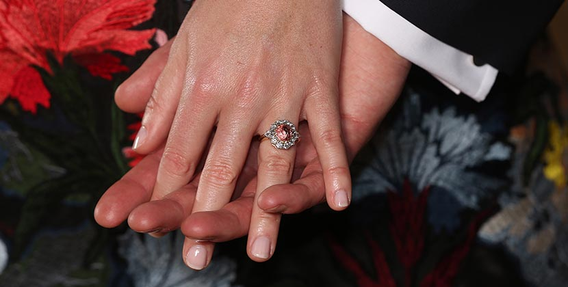 The Adventurine Posts Why Princess Eugenie's Engagement Ring Is Rare