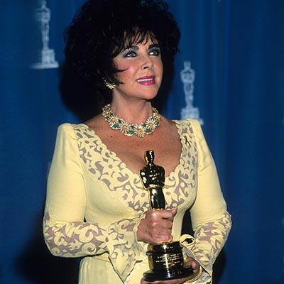 The Adventurine Posts Elizabeth Taylor's Symbolic Oscar Jewelry