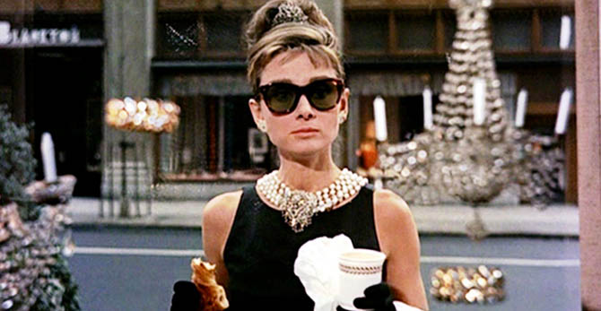 Audrey Hepburn in 'Breakfast at Tiffany's' Photo Jurow-Shepard
