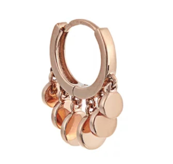 Jacquie Aiche Rose-gold Single Earring, $397
