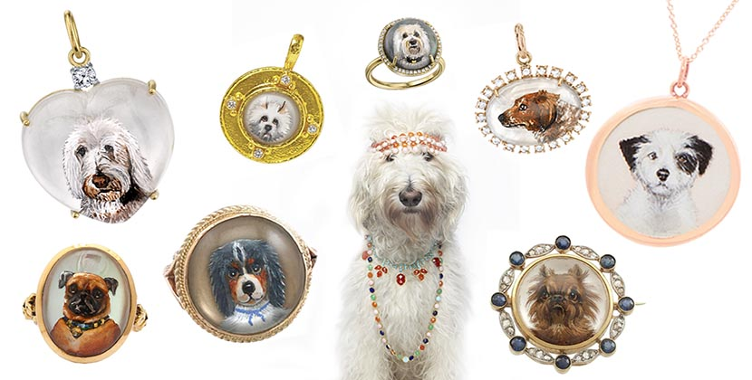 The Adventurine Posts Celebrate the Year of The Dog with Jewelry