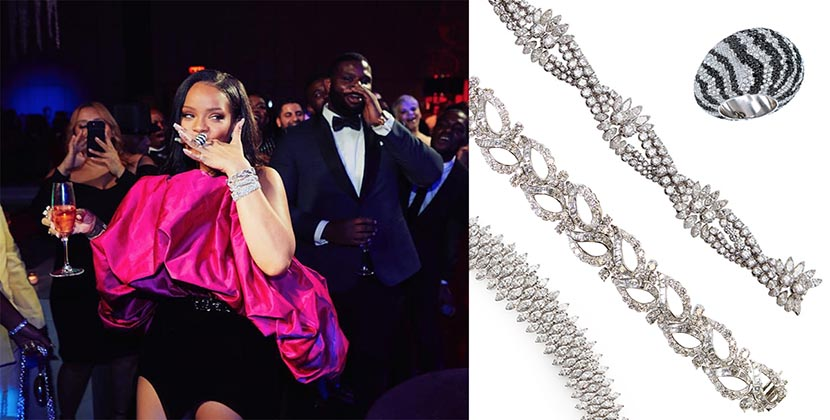 The Adventurine Posts Rihanna's Million Dollar Birthday Baubles