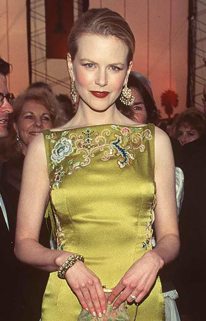 Nicole Kidman in Martin Katz jewels
