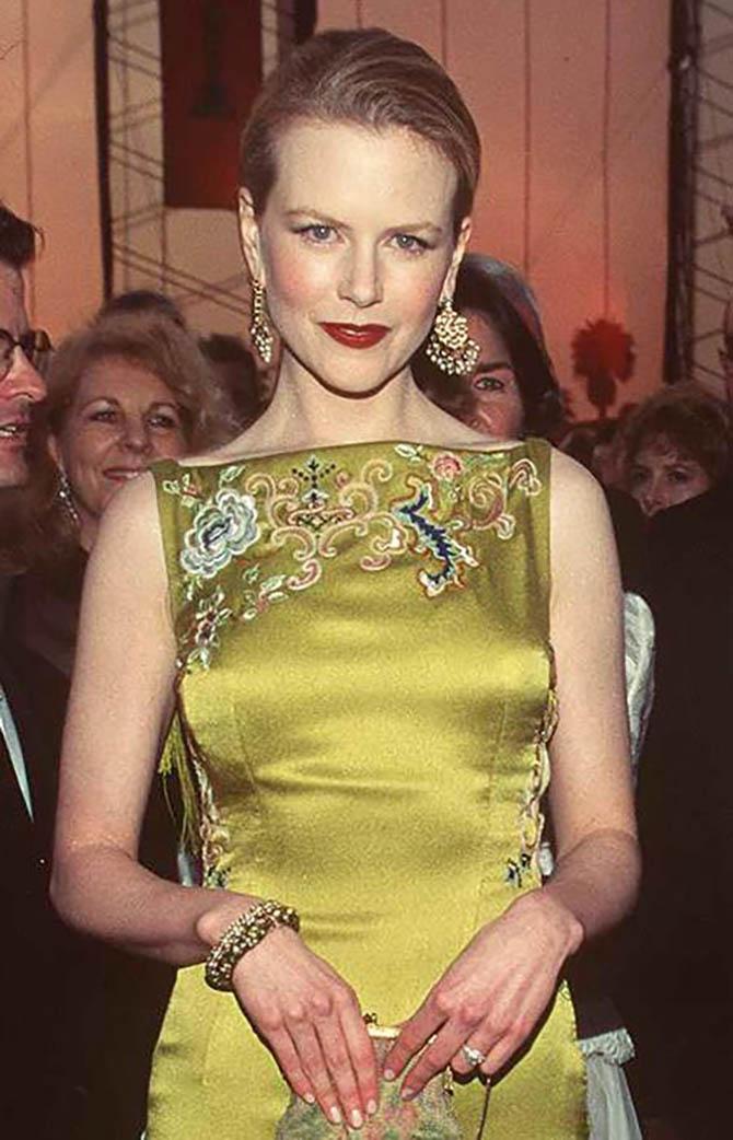 Nicole Kidman in Martin Katz jewels