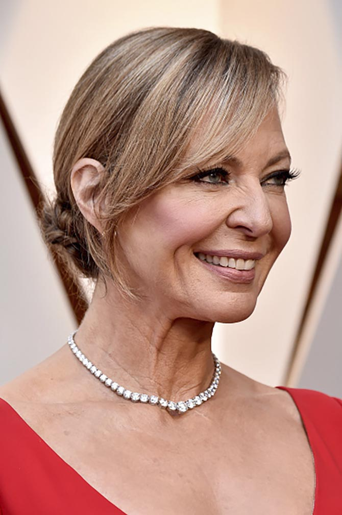 Allison Janney in Forevermark jewels at the 2018 Oscars