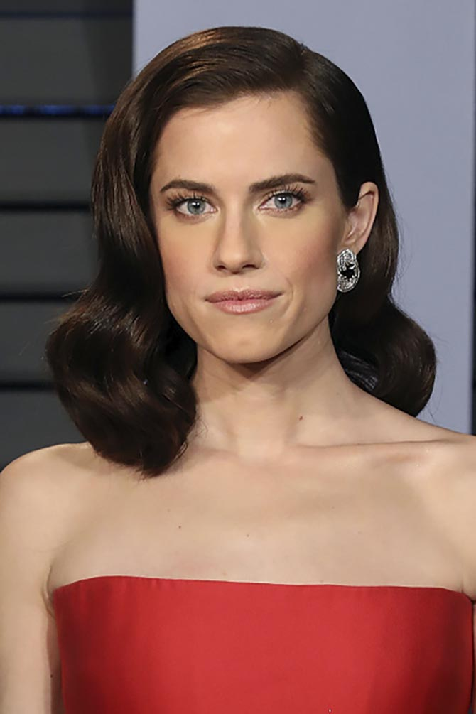 Allison Williams in earring by Forevermark