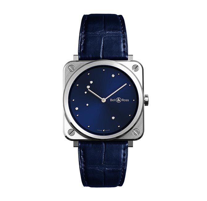 Bell & Ross Blue Diamond Eagle shown at Baselworld Photo courtesy