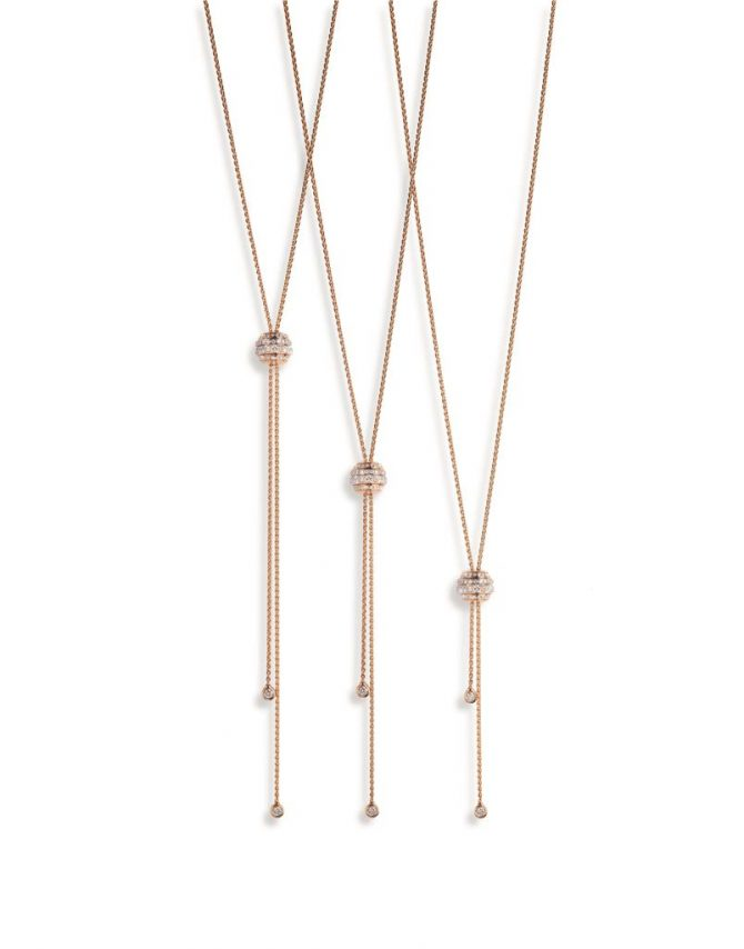 Piaget Possession Pendants in 18K rose gold and diamond