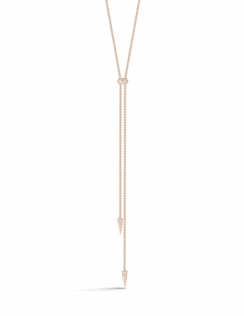 Jemma Wynne Prive Luxe Diamond Slider Lariat