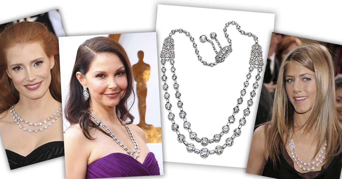 The Adventurine Posts This Jewel Has Been Worn to the Oscars Twice