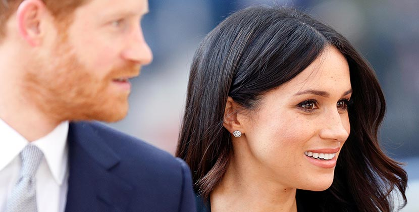 The Adventurine Posts Has Meghan Markle Debuted Her Wedding Earrings?