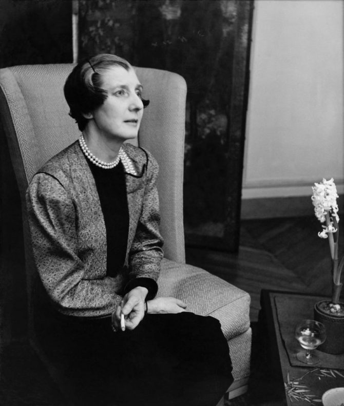 Jeanne Toussaint, Cartier's Creative Director during the 1930s. © Courtesy collection privée
