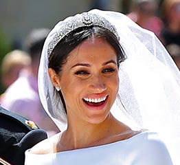 The Adventurine Posts Meghan Markle's Tiara and Wedding Jewels