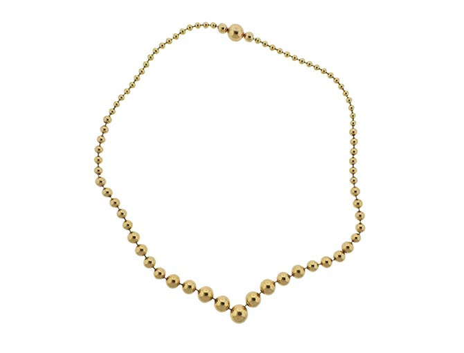 cartier-graduated-ball-gold-necklace Rick Shatz Up On Park