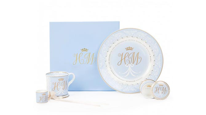 Royal Wedding Official Commemorative china Photo via Royal Collection