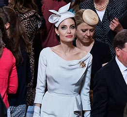 The Adventurine Posts About That Brooch Angelina Jolie Wore In London