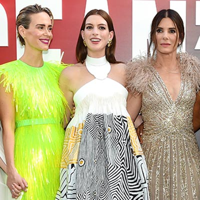 The Adventurine Posts All the Gorg Earrings at the Ocean's 8 Premiere