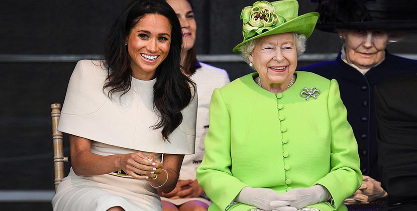 The Adventurine Posts The Queen Gave Meghan Earrings