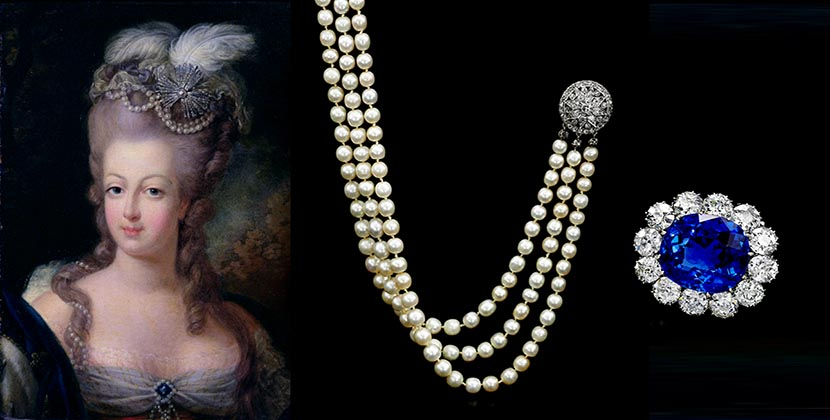 The AdventurinePostsAt Auction: Marie Antoinette's Jewelry