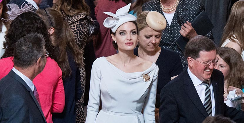 The AdventurinePostsAbout That Brooch Angelina Jolie Wore In London