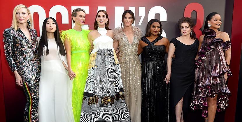 The AdventurinePostsAll the Gorg Earrings at the Ocean's 8 Premiere
