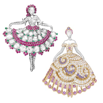 The Adventurine Posts The Story of Van Cleef & Arpels Ballerinas