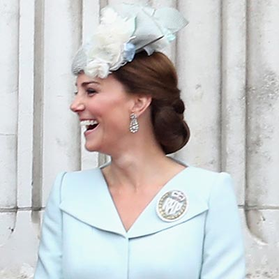 The Adventurine Posts Meghan and Kate Shine in Diamond Earrings